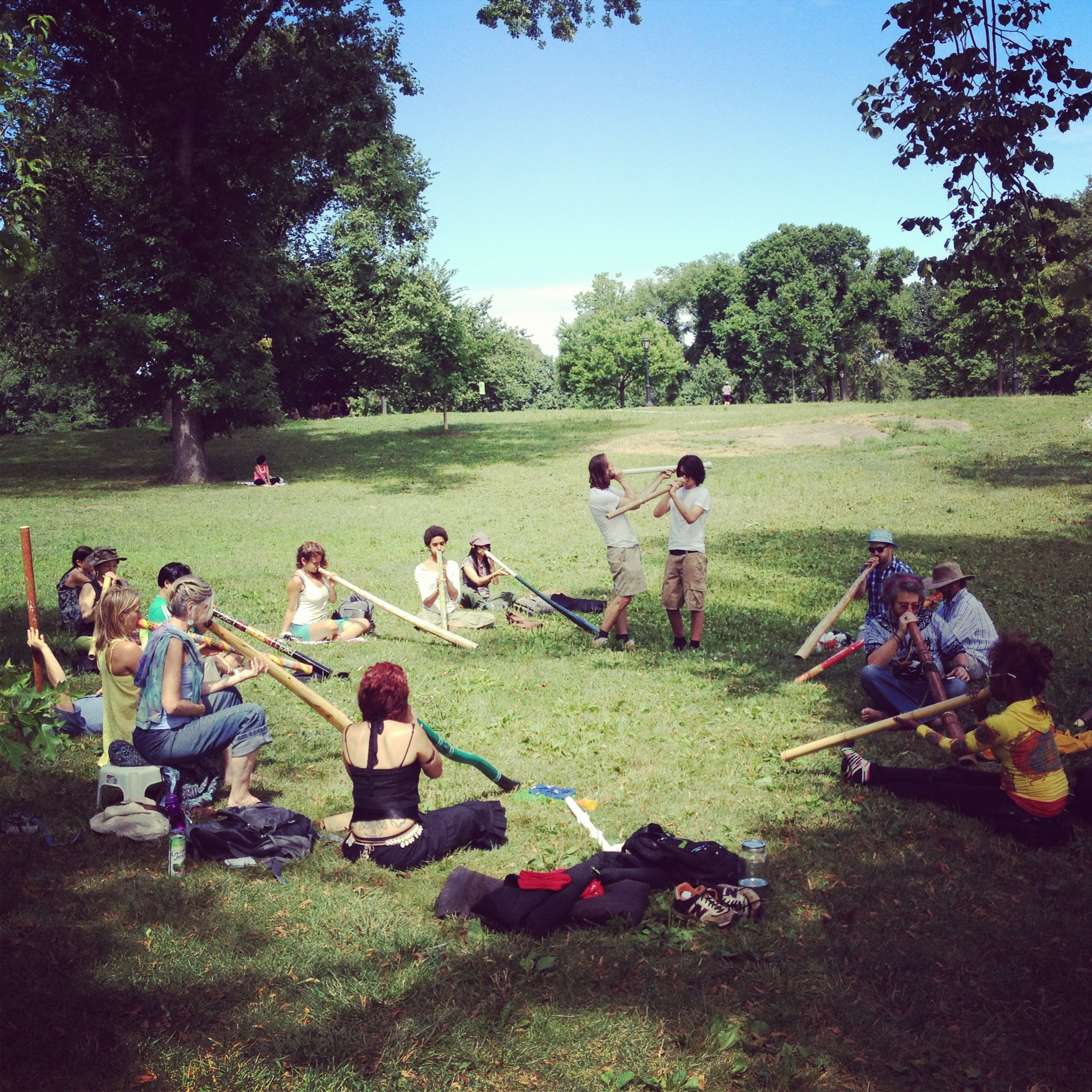 Didgeridoo Class, Lessons, Programs, Courses in New York City's Central Park, San Francisco, Los Angeles, Connecticut