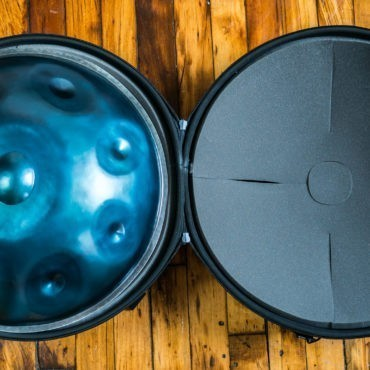 Evatek Handpan Case with Pouch & Backpack Straps by Hardcase Technologies