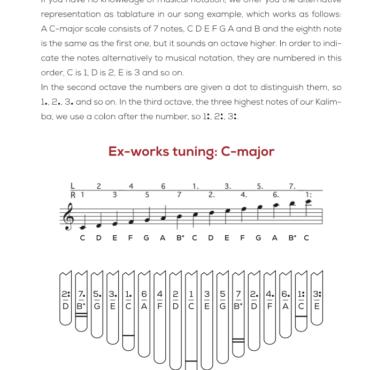 Hokema Kalimba B17 Model in C Major